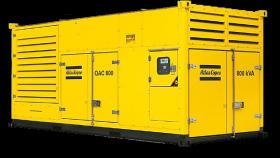 Аренда электростанции 640 кВт / 800 кВа Atlas Copco QAC 800