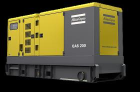 Аренда электростанции Atlas Copco QAS 200 (160 кВт)