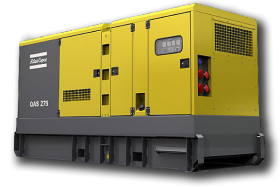 Аренда электростанции Atlas Copco QAS 275 (220 кВт)